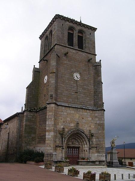 Photo du Monument Historique Eglise situé à Saint-Just-en-Bas