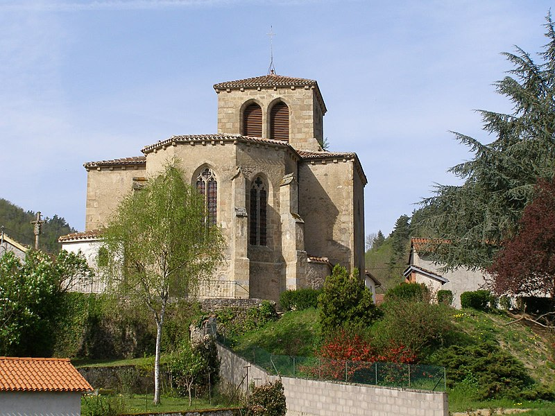 Photo du Monument Historique Eglise situé à Saint-Laurent-Rochefort