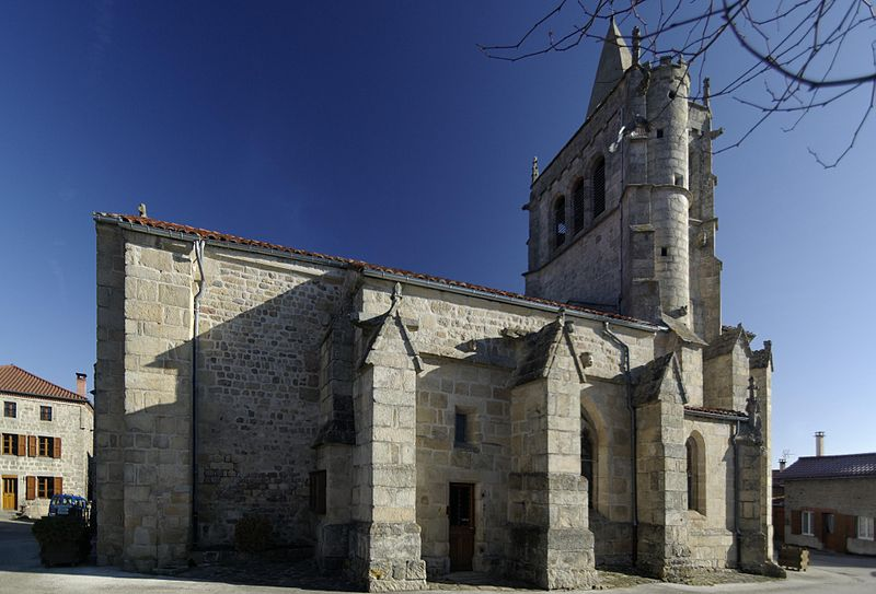 Photo du Monument Historique Eglise situé à Saint-Nizier-de-Fornas