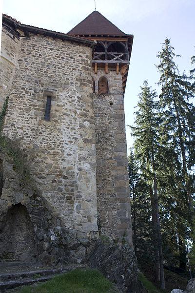 Photo du Monument Historique Eglise de Cornillon situé à Saint-Paul-en-Cornillon