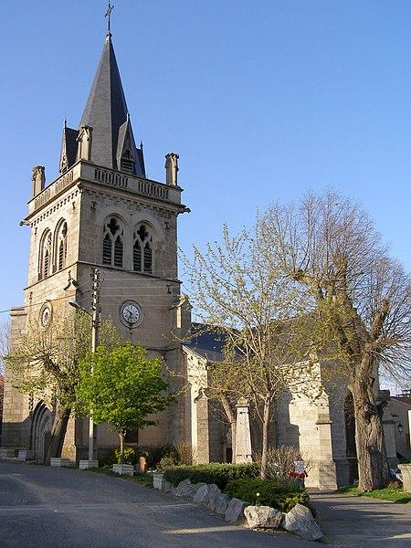 Photo du Monument Historique Eglise situé à Saint-Sixte