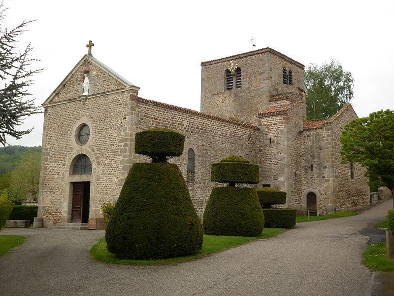 Photo du Monument Historique Eglise situé à Salt-en-Donzy