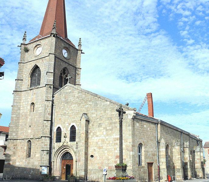 Photo du Monument Historique Eglise situé à Usson-en-Forez