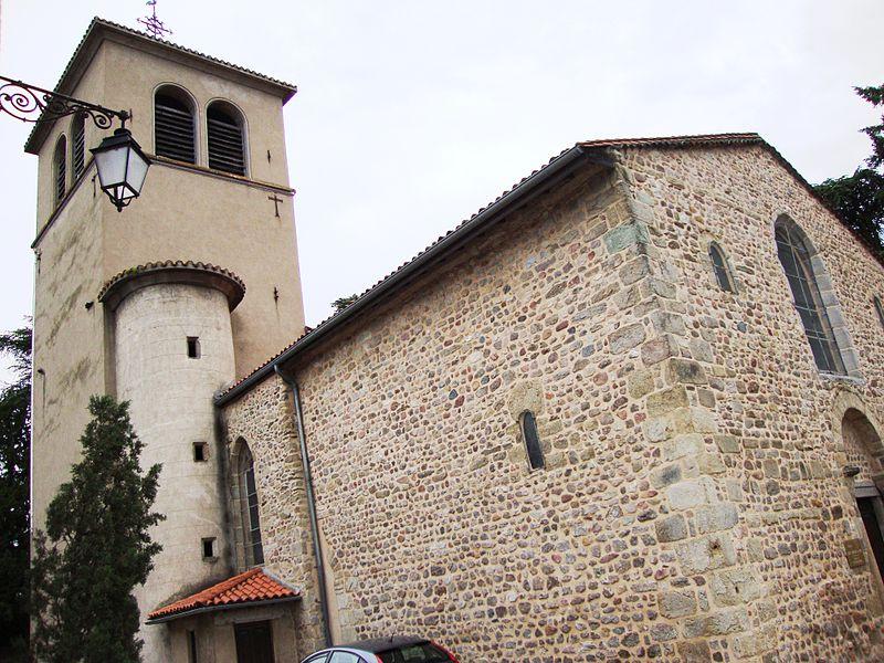 Photo du Monument Historique Eglise situé à Veauche