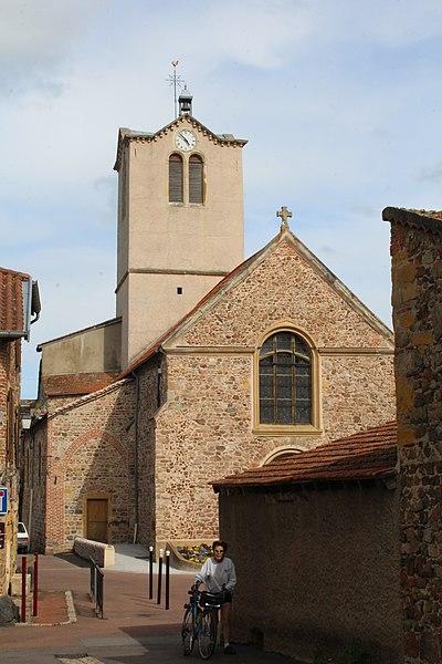 Photo du Monument Historique Eglise paroissiale de Saint-Priest situé à Villerest