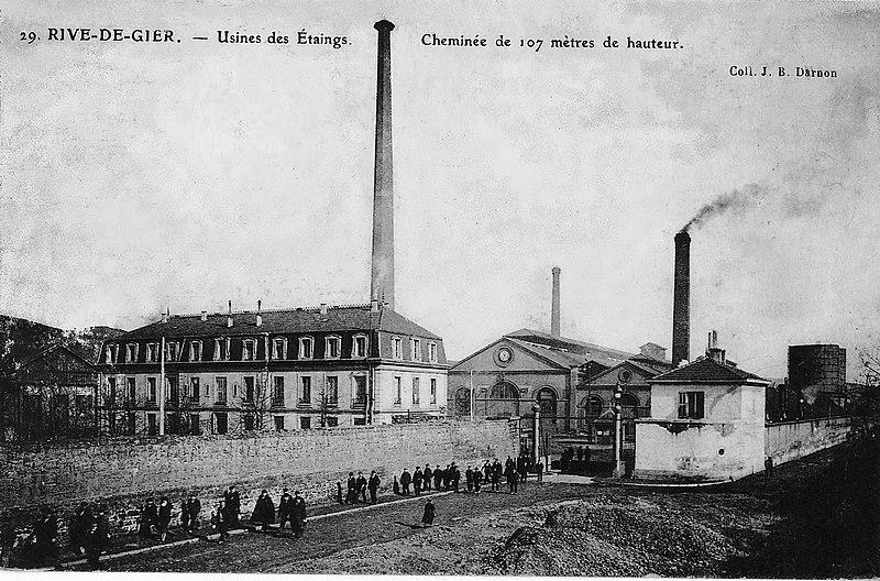 Photo du Monument Historique Anciennes usines Marrel situé à Châteauneuf