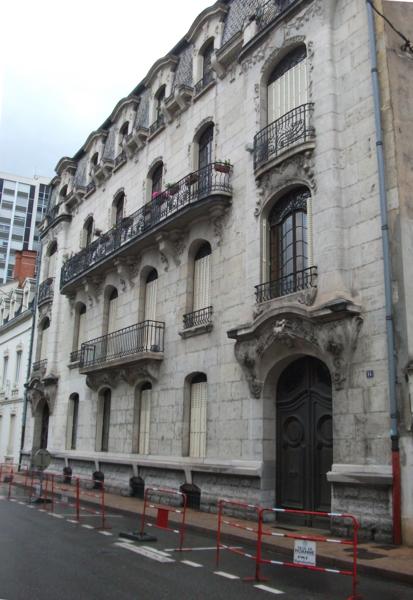Photo du Monument Historique Immeuble situé à Roanne
