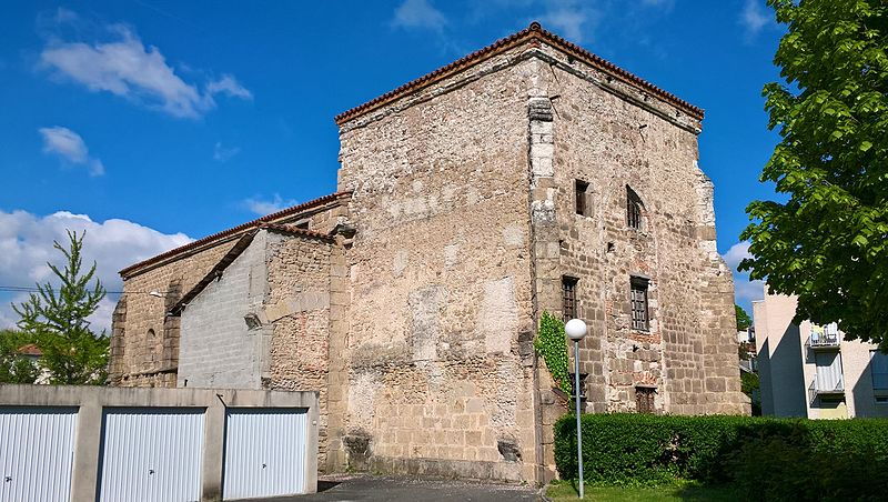 Photo du Monument Historique Commanderie de Saint-Jean-des-Prés situé à Montbrison