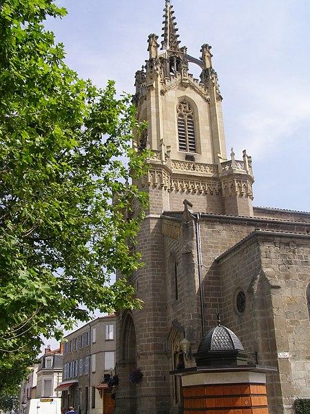 Photo du Monument Historique Eglise paroissiale Notre-Dame situé à Feurs