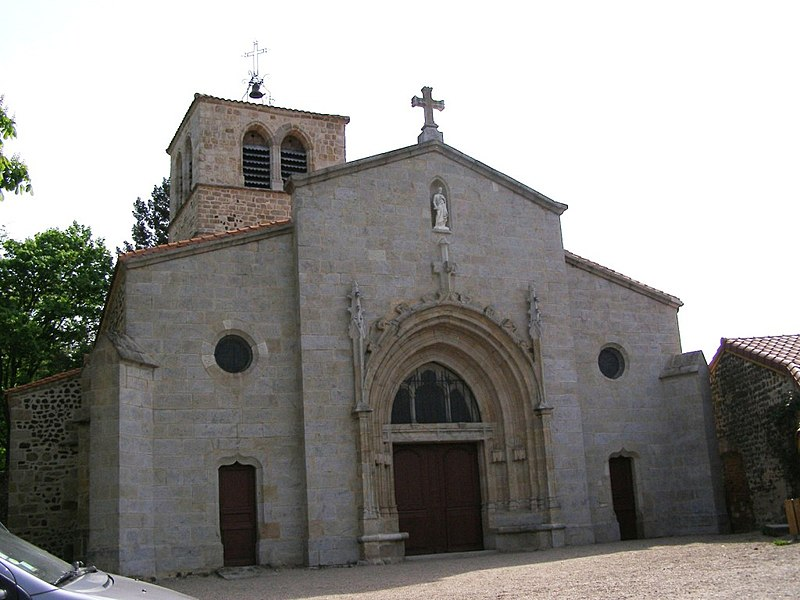 Photo du Monument Historique Eglise paroissiale Saint-Cyr situé à Marcilly-le-Châtel