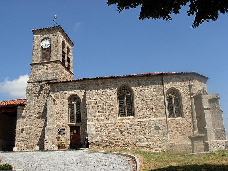 Photo du Monument Historique Eglise Saint-Pierre situé à Palogneux