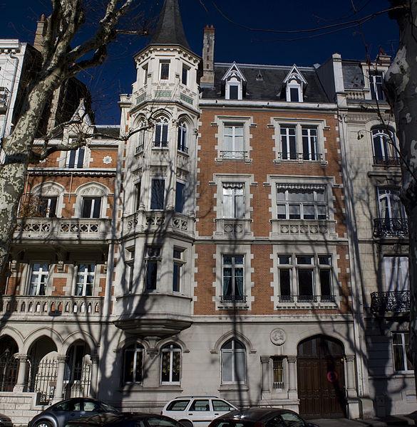 Photo du Monument Historique Immeuble dit Palais Mimard situé à Saint-Etienne