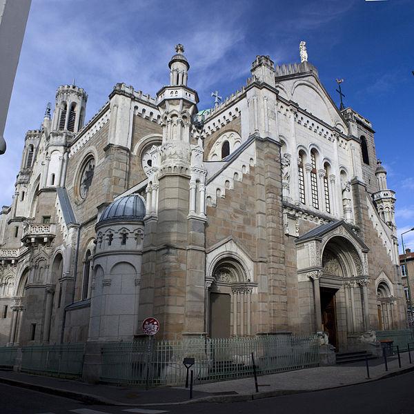 Photo du Monument Historique Eglise Sainte-Marie situé à Saint-Etienne