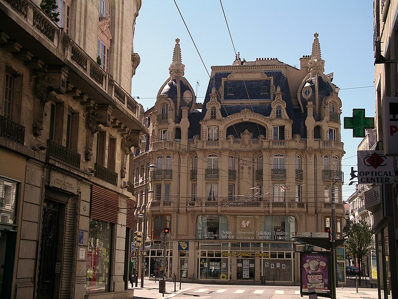 Photo du Monument Historique Immeuble situé à Saint-Etienne