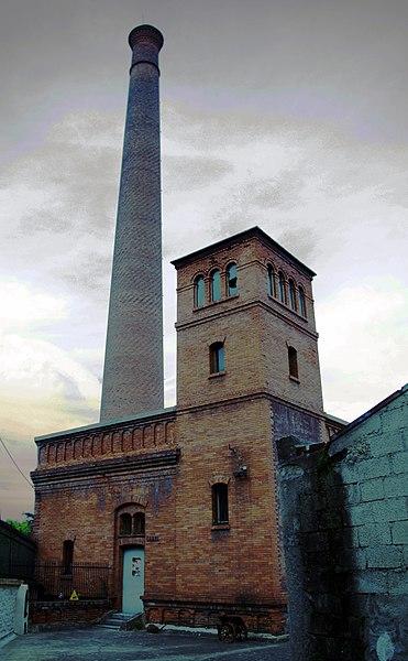 Photo du Monument Historique Ancienne usine Gillet situé à Saint-Chamond
