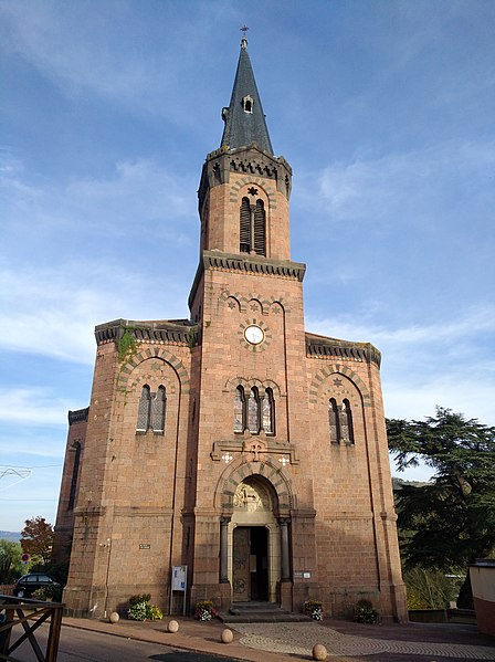 Photo du Monument Historique Ancienne église prieurale situé à Régny