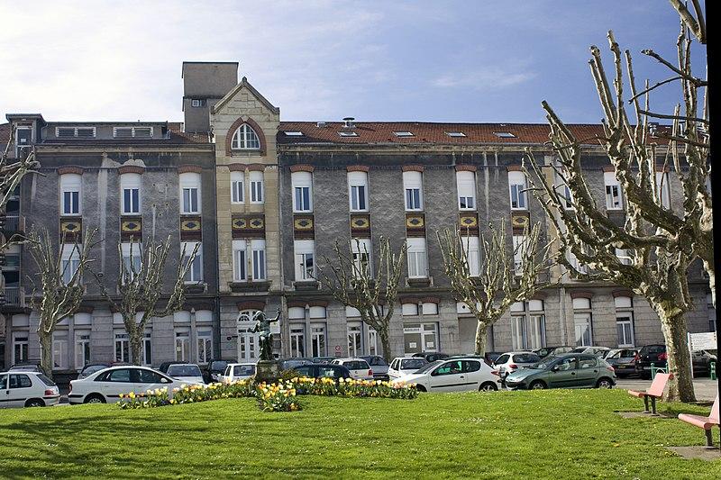 Photo du Monument Historique Hôpital de la Charité situé à Saint-Etienne