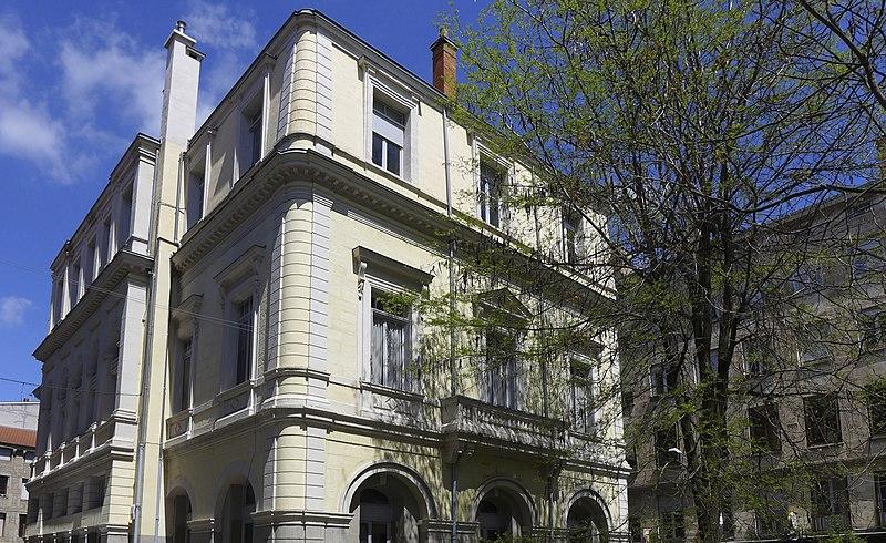 Photo du Monument Historique Ancienne chambre de commerce situé à Saint-Etienne