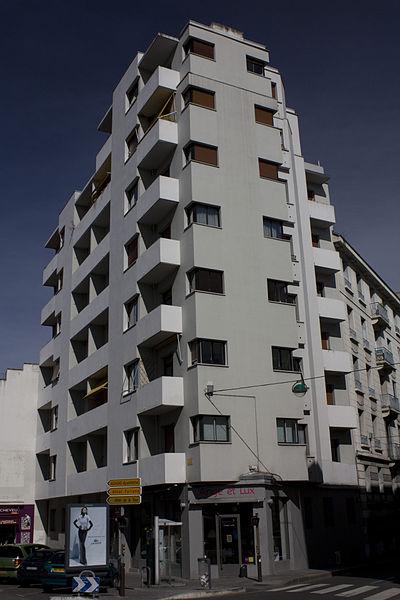 Photo du Monument Historique Immeuble moderne d'Auguste Bossu situé à Saint-Etienne