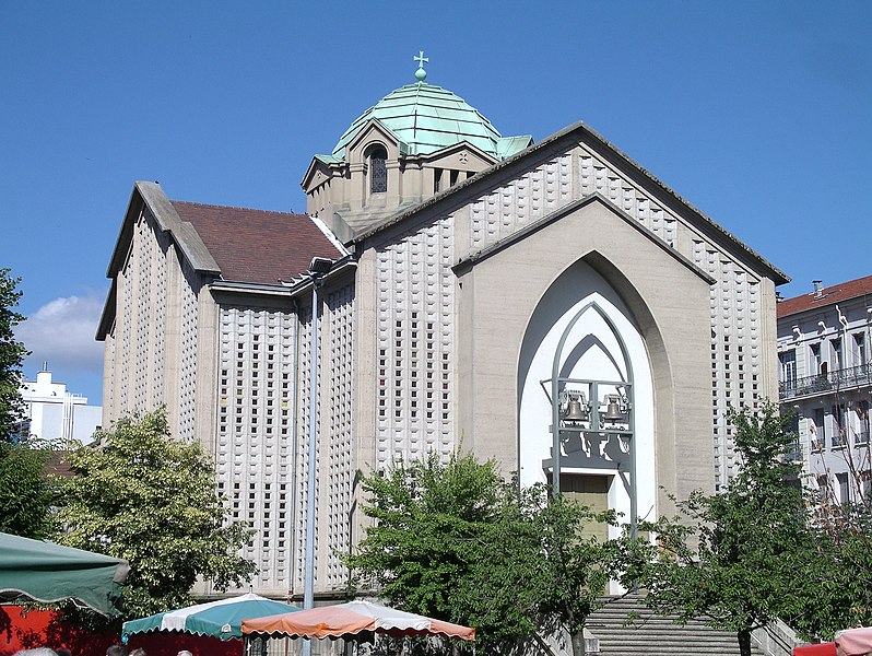 Photo du Monument Historique Eglise Saint-François-Régis situé à Saint-Etienne