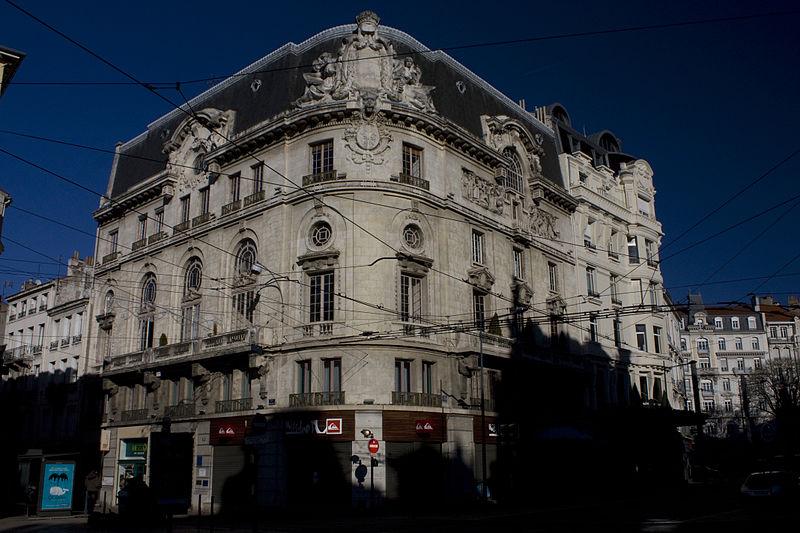 """Photo du Monument Historique Immeuble dénommé """" Hôtel des Ingénieurs """", situé à Saint-Etienne"""