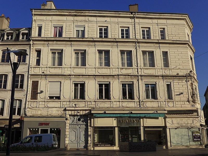 Photo du Monument Historique Hôtel Bernou de Rochetaillée situé à Saint-Etienne