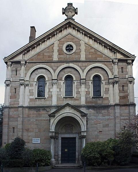 Photo du Monument Historique Temple protestant situé à Saint-Etienne