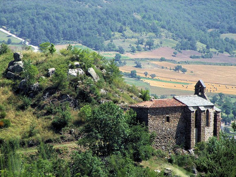 Photo du Monument Historique Chapelle de Peyrusse situé à Aubazat