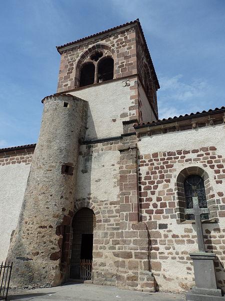 Photo du Monument Historique Eglise Saint-Jean-Baptiste situé à Azérat