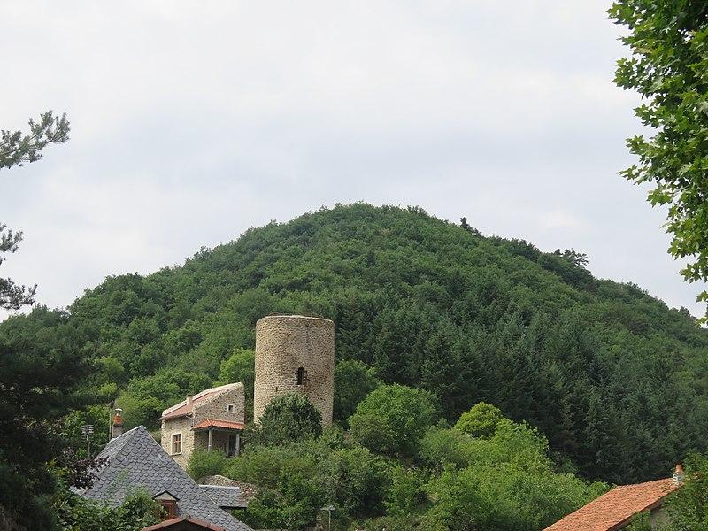 Photo du Monument Historique Tour du Massadou situé à Blesle