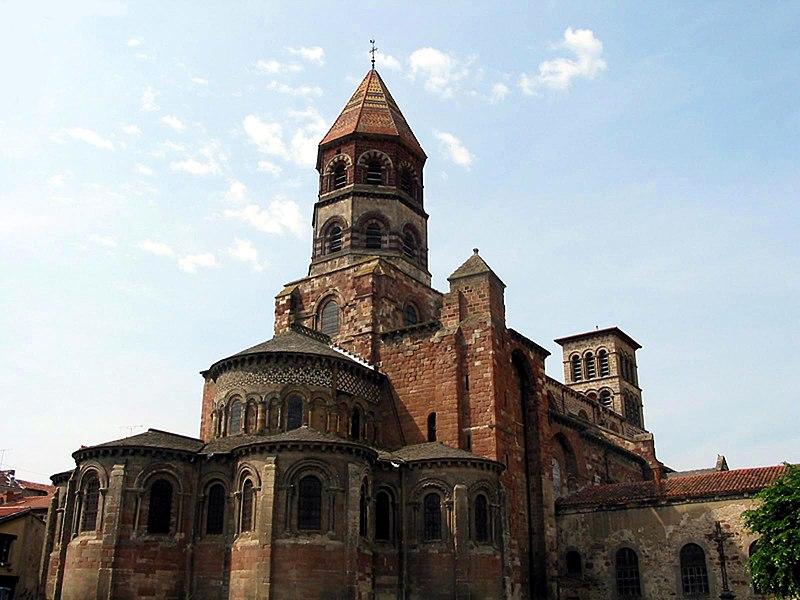 Photo du Monument Historique Basilique Saint-Julien situé à Brioude