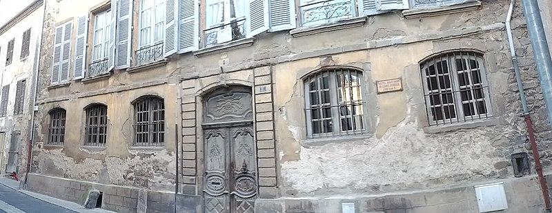 Photo du Monument Historique Hôtel de Rochely situé à Brioude