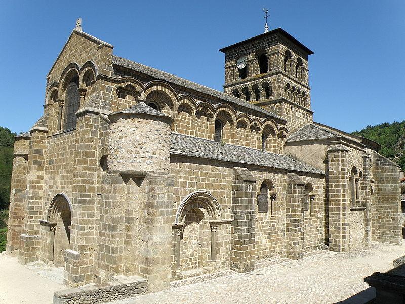 Photo du Monument Historique Eglise Saint-Gilles situé à Chamalières-sur-Loire