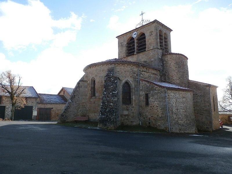 Photo du Monument Historique Eglise Notre-Dame de l'Assomption situé à Chassignolles