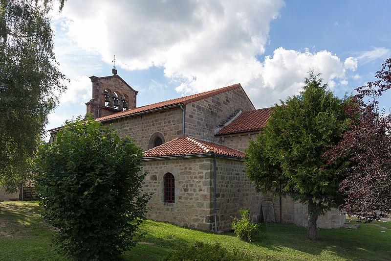Photo du Monument Historique Eglise Saint-Pierre situé à Cistrières