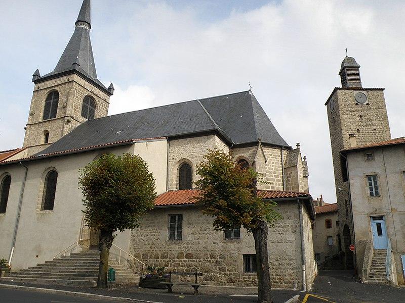 Photo du Monument Historique Eglise Saint-Caprais situé à Craponne-sur-Arzon
