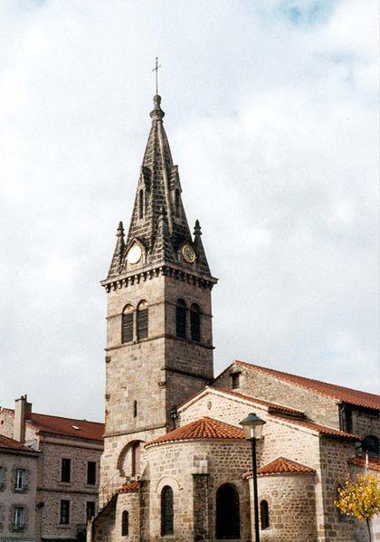 Photo du Monument Historique Eglise Saint-Martin situé à Dunières