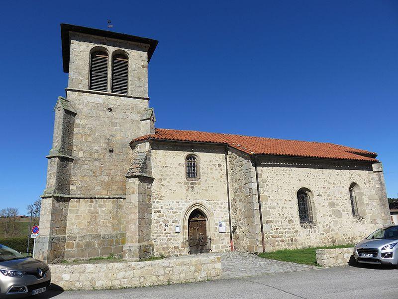 Photo du Monument Historique Eglise Saint-André situé à Jullianges