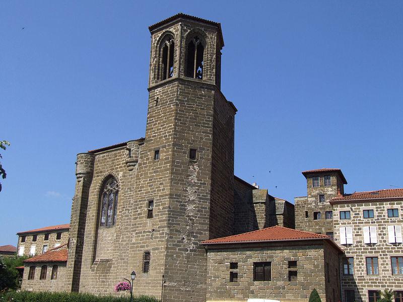 Photo du Monument Historique Eglise Saint-Gal situé à Langeac