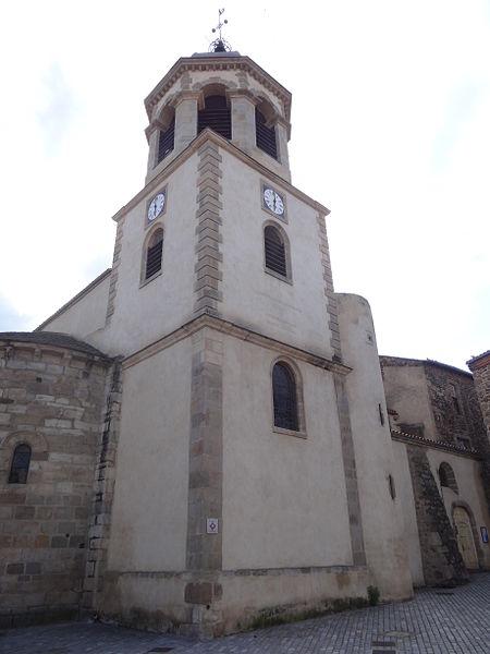 Photo du Monument Historique Eglise Saint-Géraud situé à Lempdes-sur-Allagnon