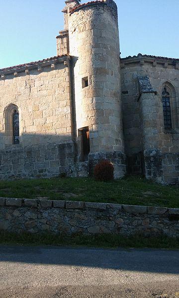 Photo du Monument Historique Eglise de la Nativité de la Sainte Vierge situé à Malvières