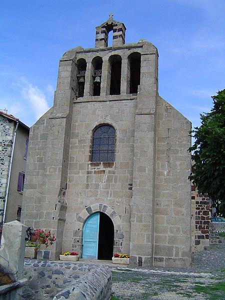 Photo du Monument Historique Ancienne église Saint-Jean situé à Le Monastier-sur-Gazeille