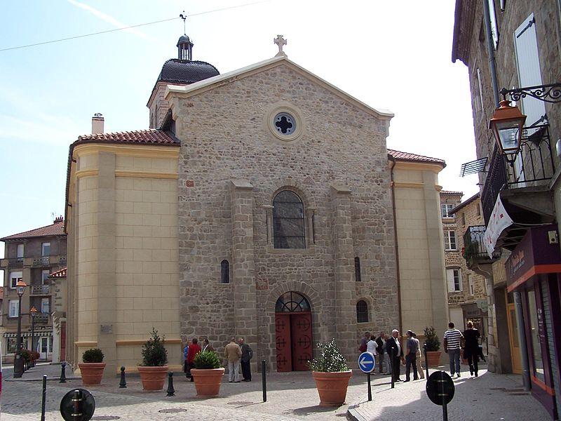 Photo du Monument Historique Eglise Saint-Marcellin situé à Monistrol-sur-Loire