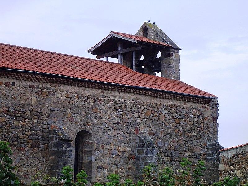 Photo du Monument Historique Eglise paroissiale Saint-Jean-Baptiste situé à Paulhac