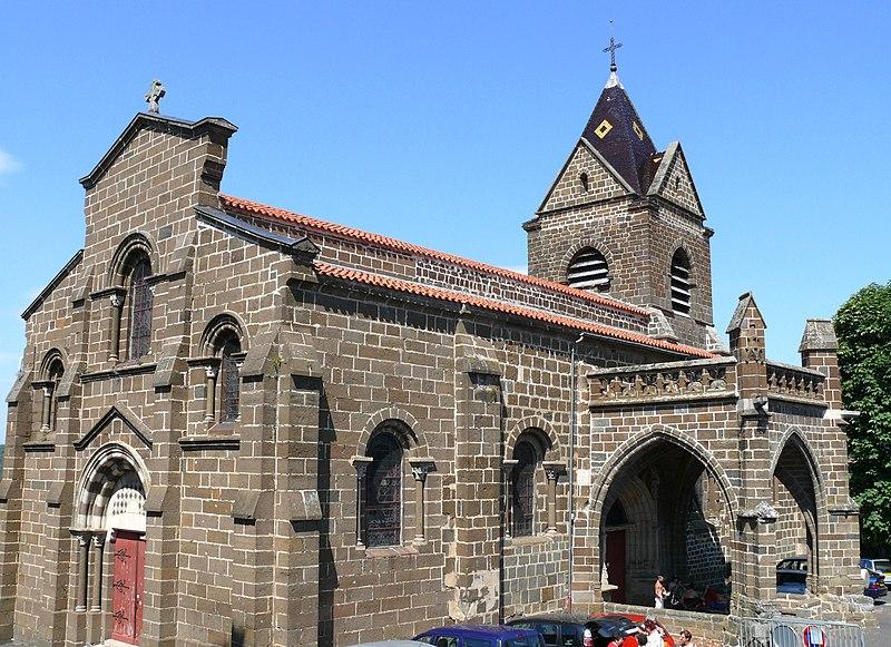 Photo du Monument Historique Eglise Saint-Martin situé à Polignac