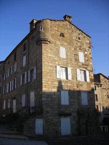 Photo du Monument Historique Maison Templer (ou Templar) situé à Pradelles