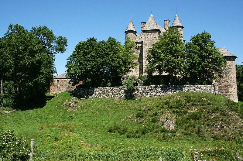 Photo du Monument Historique Château de Vachères situé à Présailles