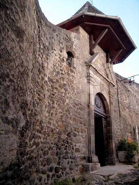 Photo du Monument Historique Couvent de Sainte-Claire situé à Le Puy-en-Velay