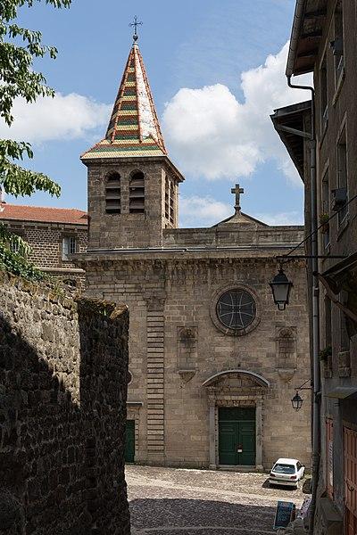 Photo du Monument Historique Ancienne église Saint-Georges, actuelle chapelle du grand séminaire situé à Puy-en-Velay (Le)