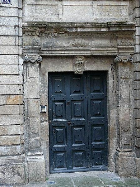 Photo du Monument Historique Ancien hôtel Pradier d'Agrain situé à Le Puy-en-Velay